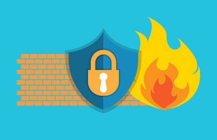 Firewalls Blocking Out The Bad Guys Strategy